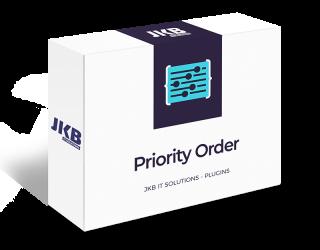 Shopware Priority Order