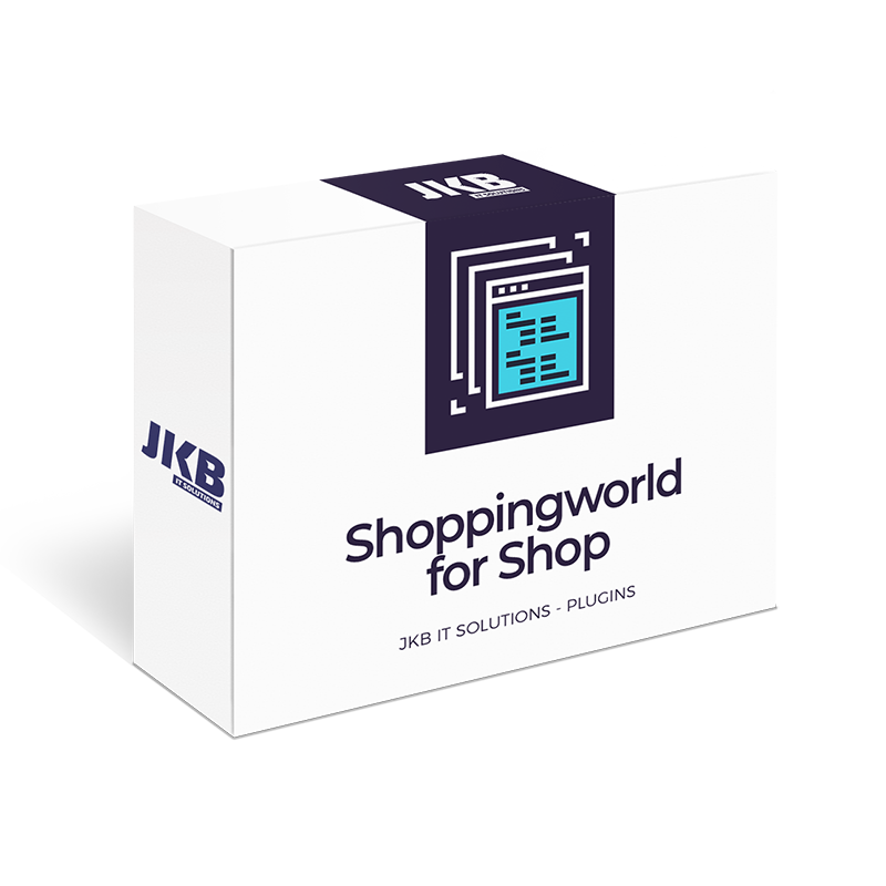 Shopware Shoppingworld For Shop – JKB IT Solutions